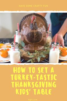 Give kids a space of their own this Thanksgiving with our creative ideas for setting up a crafty table that encourages fun and festivities. Easy Diy Crafts, Diy Crafts For Kids, Thanksgiving Decorations, Thanksgiving Recipes, Kid Table, Business For Kids, Hgtv, Creative Ideas, Celebrations