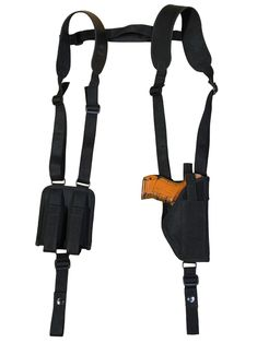 Holsters, Belts & Pouches Hunting Blackhawk Nylon Ambi Medium Horizontal Shoulder Holster # 01 Durable In Use