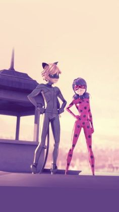 """Chat Noir and I, we're a team."""