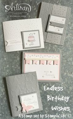 Endless Birthday Wishes Stampin365.com - SU