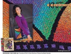 The book, Knit in New Directions by Myra Wood, can be found at the library.