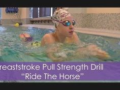 """Breaststroke Pull Strength Drill 