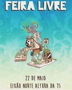 Amanhã é dia de feira livre! Muita diversão e lazer no Eixão Norte Na altura da 215. Traga sua canga e venha curtir um dos gramados mais agitados da cidade! #feiralivre #domingo #9h #df #brasilia0800 #bsb #distritofederal #0800 #feira #gastronomia #sustentabilidade #yoga #teatro #arte #musica #oficinas #circo #bambole #moda #marafastore #amanha #boanoite #boatarde #bomdia by marafa_store http://ift.tt/27LKGdj