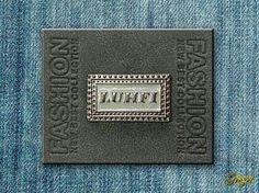 Placas para jeans e tecido plano
