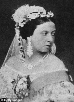 Queen Victoria. 1854.