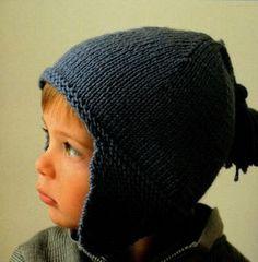 """bonnet péruvien des """"intemporels tricot pour bébé""""(+ moufles) Baby Knitting Patterns, Baby Patterns, Bonnet Crochet, Crochet Baby, Knit Crochet, Crochet Magazine, Cute Hats, Slouchy Beanie, Sweater Weather"""