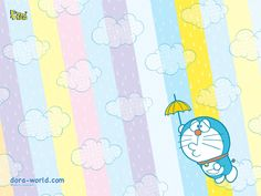 ドラえもん 壁紙 Doraemon Wallpaper A Cartoon, Cartoon Characters, Fictional Characters, Doraemon, Stationery Paper, Cute Art, Chibi, Kawaii, Stickers