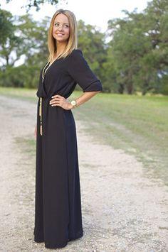 Boho Black Maxi Dress – Fancy Free (for Christmas?  , Not Vegas : )  )
