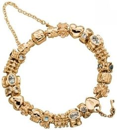 Pandora gold bracelet...love it.