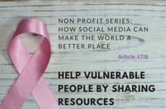 help vulnerable people by sharing resources Good Morning Friends, Non Profit, Organizations, Vulnerability, Fundraising, Charity, Marketing, People, Organizers