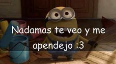 143 Minion Poemas, Persona Feliz, Frases Humor, Spanish Quotes, Picture Quotes, Haha, Mario, Fictional Characters, Fun Stuff