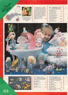 Moon Dreamers 1987....THESE were my ABSOULUTE favorite!!!!! I had 3 of them; wish they would have continued making them. I would love to find any to buy!!