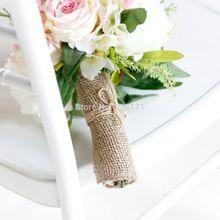 """5 """" large Jute naturelle rouleau Jute tissu pour toile de Jute chaise jupettes Jute ruban hesse bricolage Supply livraison gratuite(China (Mainland))"""