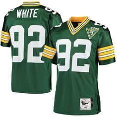 cc74ccb8 Reggie White Green Bay Packers Mitchell & Ness 1993 Throwback Authentic  Jersey - Green