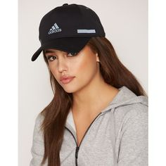 Adidas Sport Performance Clmch Cap (50 AUD) ❤ liked on Polyvore featuring accessories, hats, accessories sport, black, sports fashion, womens-fashion, sports cap, adidas hats, sport caps and adidas cap