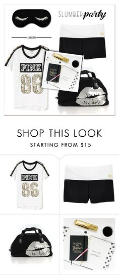 """""""Untitled #63"""" by faigylefkowitz ❤ liked on Polyvore featuring Victoria's Secret and slumberparty"""