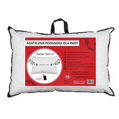 Muzyczna poduszka dla pary