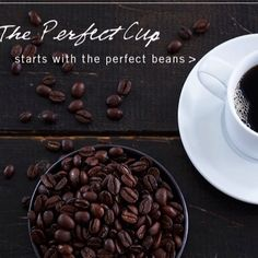 The perfect cup of coffee starts with the perfect beans.  Share your Dean and DeLuca coffee pictures with us.  #coffee #beans