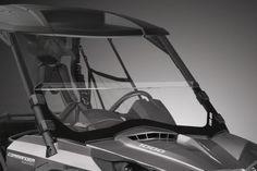 2015 Can-Am Commander 1000 LTD Half Windshield