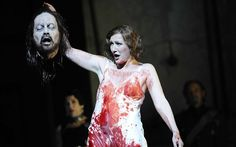 Salome (Angela Denoke) at the Royal Opera House in David McVicar's production of Strausss opera