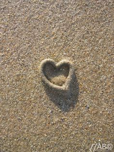This heart-shaped cast was made by a worm in the sand on a beach in the North of England! Even worms can produce amazing natural art!!