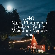 Here are some of the most beautiful and photogenic Hudson Valley and Catskills wedding venues that we have photographed (or would like to photograph). If you would like to see a gallery of images from any of these, please contact us.