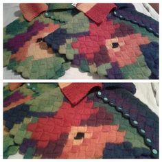 #byitu #neuloosi #neuloosi #Mari #poncho #ponchos #handmadeinfinland #orvokki #pansy #hahtuvalanka #pirtinkehräämö #pirtinkehraamo #napit