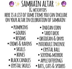 Wiccan Sabbats, Wiccan Spells, Pagan Altar, Samhain Ritual, Samhain Halloween, Witchcraft For Beginners, Eclectic Witch, Baby Witch, Modern Witch