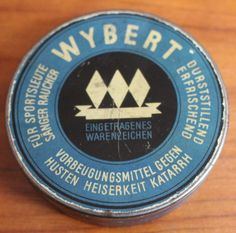 Online veilinghuis Catawiki: Wehrmacht Wybert snoep blikje