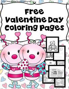 printable Itsy Bitsy Book - Valentine\'s Day http://www.kidzone.ws ...