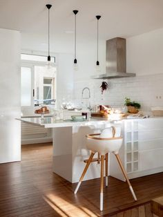 Asian Home Decor - Affordable and clever decor arrangements and tactics. korean home decor diy decor suggestion stamp 1264224456 shared on a date 20181229 Pastel Interior, French Interior, Interior Design, Kitchen Redo, Kitchen Design, Modern Large Kitchens, Inviting Home, Asian Home Decor, Upper Cabinets