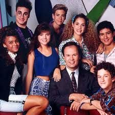 Saved by the Bell...We used to run home from school to watch this everyday!