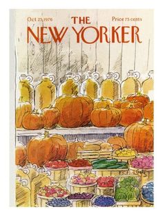 The New Yorker Cover - October 25, 1976 Premium Giclee Print by Arthur Getz at AllPosters.com