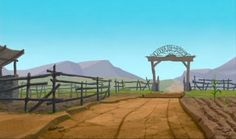 Animation Backgrounds: HOME ON THE RANGE