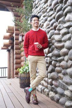 Penguin Sweater, Hawkins Shoes, Richer Poorer Socks