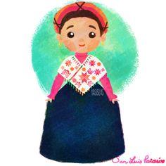 México colores y diseños de sus trajes típicos San Luis Potosí