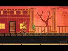 Check out this upcoming gorgeous, brutal action game centered around Greek mythology. Greek Mythology, Action, Painting, Group Action, Painting Art, Paintings, Painted Canvas, Drawings