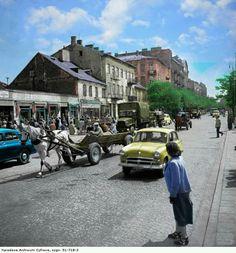 Bazar Różyckiego, Targowa. Poland History, Ppr, Warsaw, Once Upon A Time, City Photo, Places To Visit, Street View, America, Transport