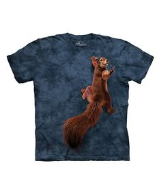 The Mountain Blue Peace Squirrel Sublimated Tee - Toddler & Kids | zulily