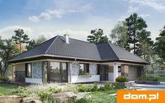 DOM.PL™ - Projekt domu AN TYMOTEUSZ G2 CE - DOM AO10-56 - gotowy koszt budowy 20 M2, Gazebo, Farmhouse, Outdoor Structures, Kiosk, Pavilion, Cabana, Cottage, Plantation Homes