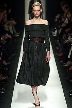 Céline Fall 2004 Ready-to-Wear Fashion Show - Gemma Ward (IMG)