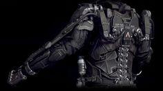 Dustrial, Cyberpunk Clothing & Apparel — renatoled:   Exoskeleton