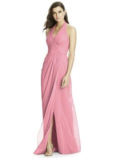 "Available in ""stormy"" Dessy Bridesmaid style 2992 - Carnation 