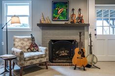 Interior Design - Artists Retreat Composer Studio