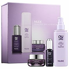 NUDE Skincare - Essential Skin Radiance Kit  #sephora  I love this stuff. This is my new go to, it keeps my skin clear and soft