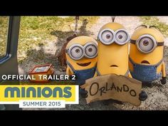 Watch the funny official trailer for the Minions Movie! | In Theaters July 10th