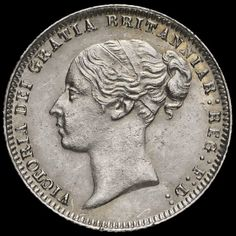 Old British Coins, Coins For Sale, Queen Victoria, Silver Coins, Classic, Silver Quarters, Derby, Classic Books