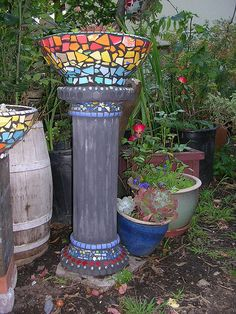 Another mosaic pot