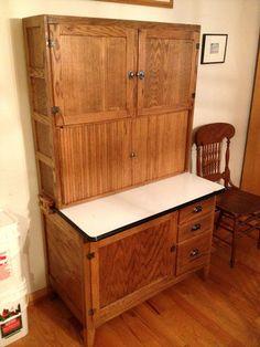 Antique Oak Hoosier Cabinet from 1890's | home sweet homes ...