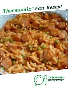 Würstchengulasch mit Gabelspaghetti von Schnuepperle. Ein Thermomix ® Rezept aus der Kategorie Hauptgerichte mit Fleisch auf www.rezeptwelt.de, der Thermomix ® Community.